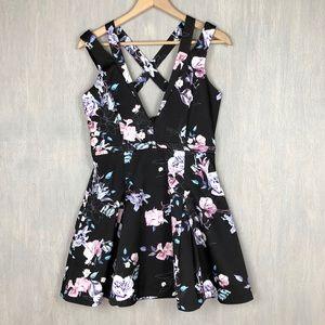 Stylestalker revolve winter garden mini dress L